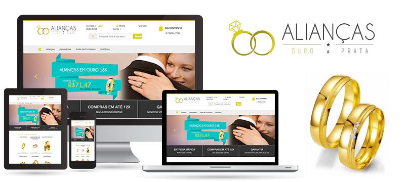 Alianças Ouro & Prata - Agência Negocios na Internet