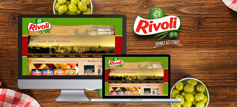 Azeitonas Rivoli - Agência Negocios na Internet