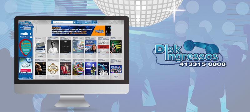 Disk Ingressos - Agência Negocios na Internet